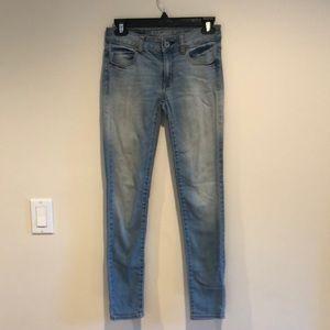 Super Stretch Skinny Blue Jeans
